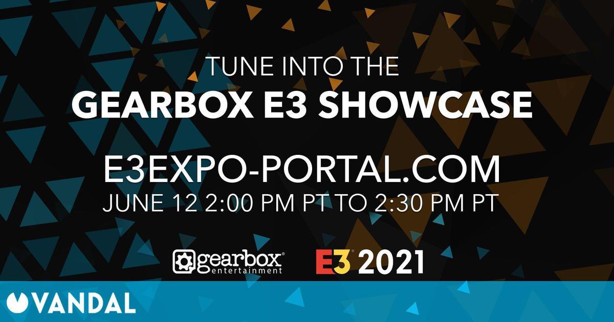 E3 2021: La conferencia de Gearbox será el sábado 12 de junio a las 23:00h
