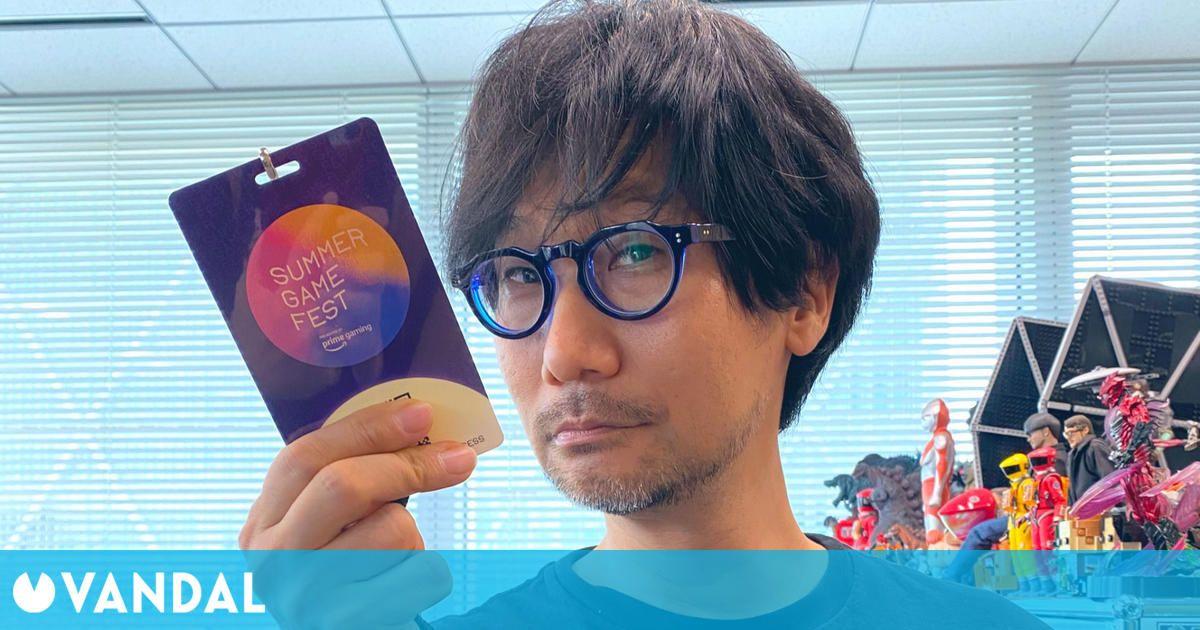 Summer Game Fest: Hideo Kojima estará en el festival y ya tiene su acreditación