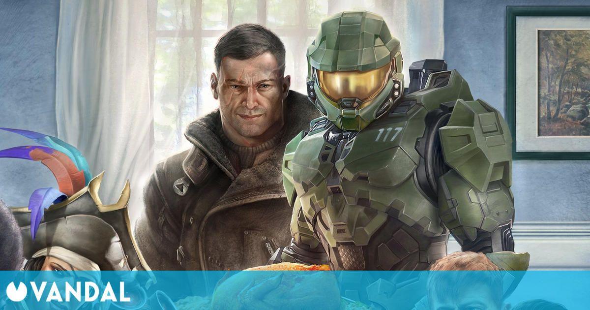 Xbox y Bethesda anticipan su evento del E3 2021 con este crossover en forma de ilustración