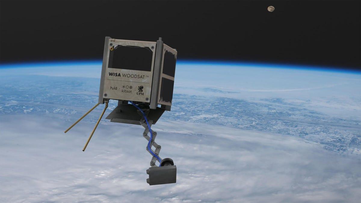 Este año se pondrá en órbita un satélite hecho de madera