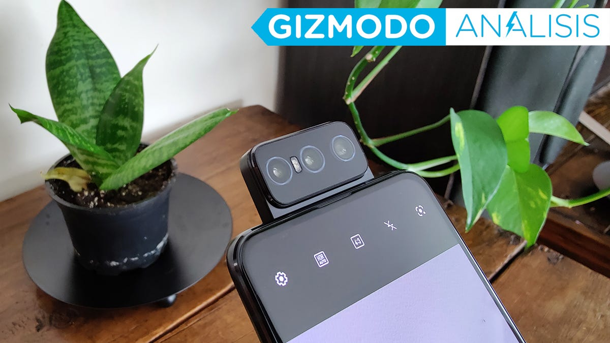 Asus Zenfone 8 Flip: análisis, precio y características.