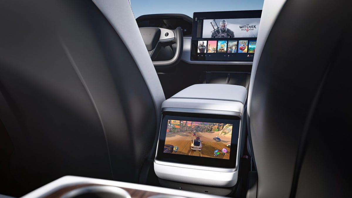 La consola del Tesla Model X y S se acercará a una PS5