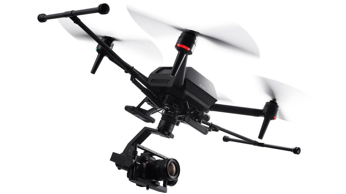 El primer dron de Sony cuesta 9000 dólares y está pensado para cineastas