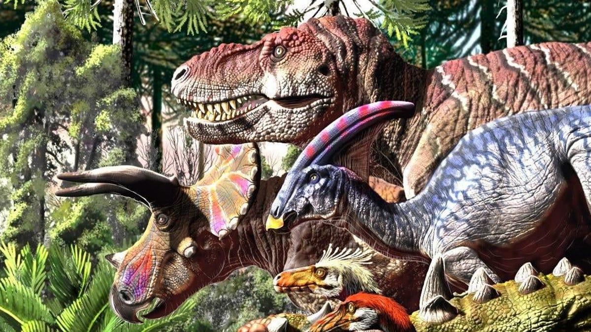 Los dinosaurios ya estaban en serios problemas antes del asteroide