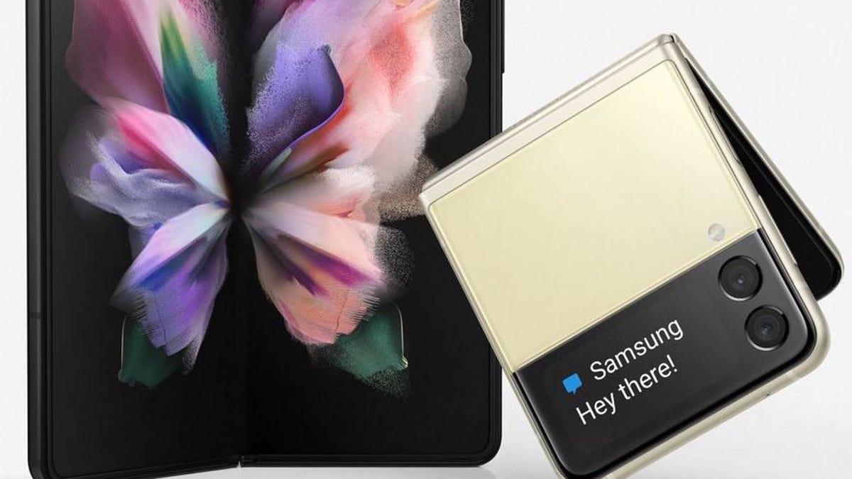 Se filtran imágenes de nuevos Samsung Galaxy Z Fold 3 y Z Flip