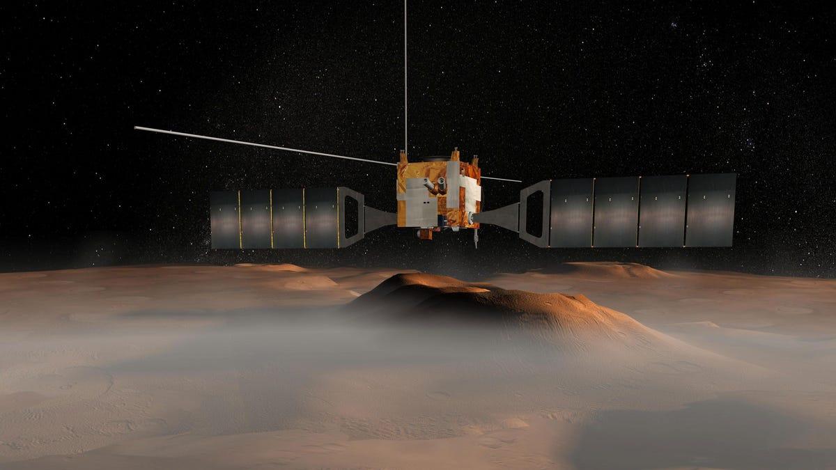 Científicos de NASA encuentran más lagos subterráneos en Marte