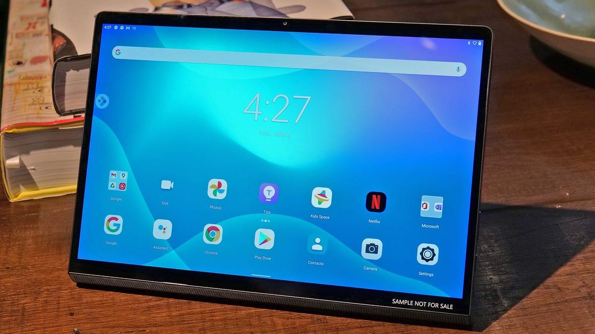 La nueva tableta de Lenovo funciona como monitor externo