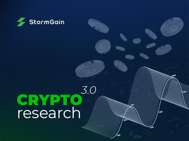 Los comerciantes toman nota de que StormGain publica el último informe del mercado de cifrado