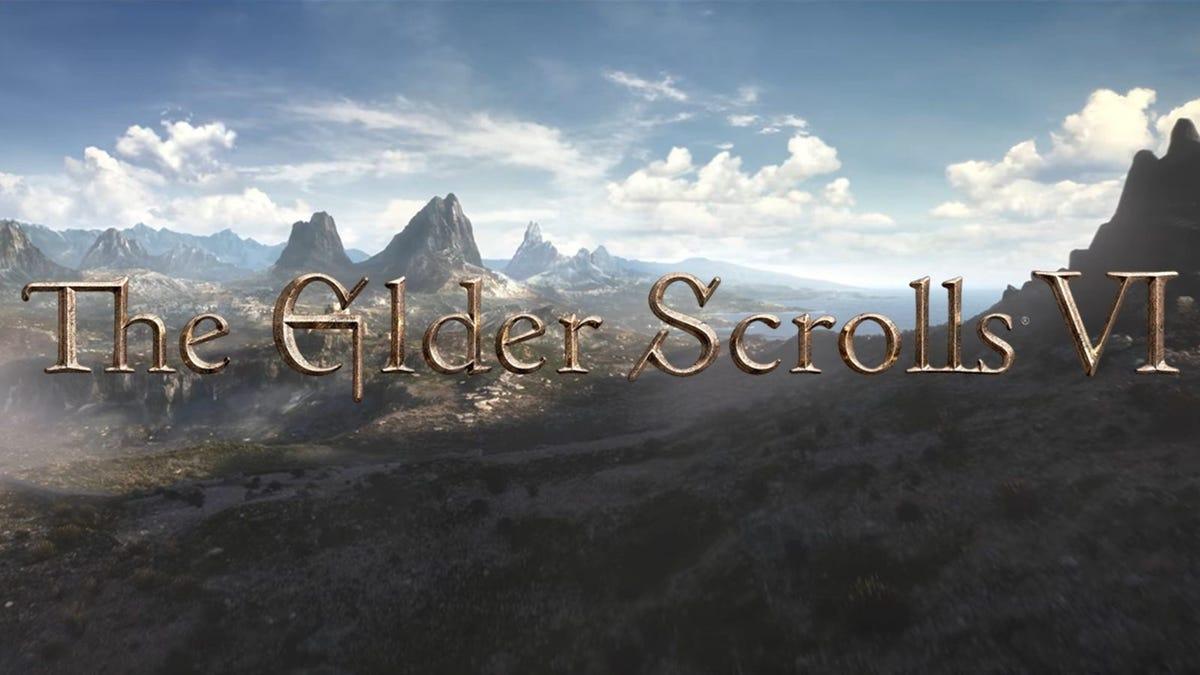 Faltan años para que juguemos The Elder Scrolls 6, según Bethesda