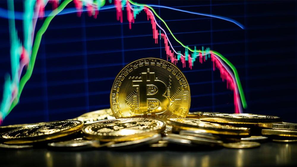Bitcoin cayó por debajo de los 30.000 dólares por primera vez desde enero