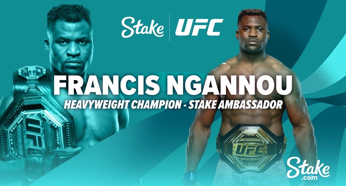 ¡El campeón de UFC Francis Ngannou une fuerzas con Stake.com!