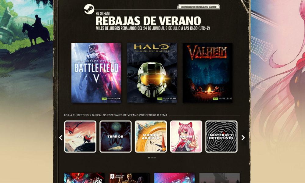 Los mejores juegos en las rebajas de verano de Steam
