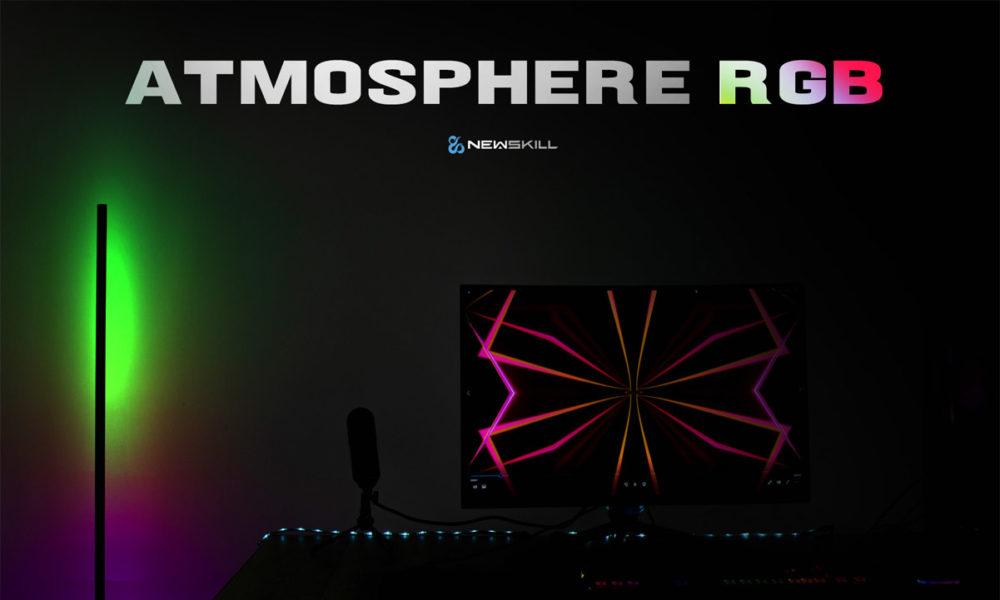 Newskill Atmosphere ilumina tu setup con luz ambiental RGB