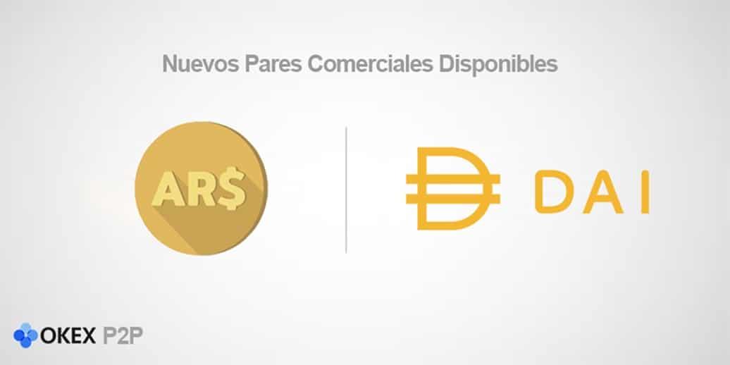 Usuarios de Argentina ahora pueden negociar con DAI en OKEx P2P