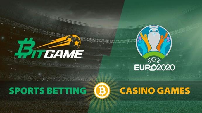 Bitgame surge como la plataforma de apuestas deportivas preferida durante la Eurocopa 2020