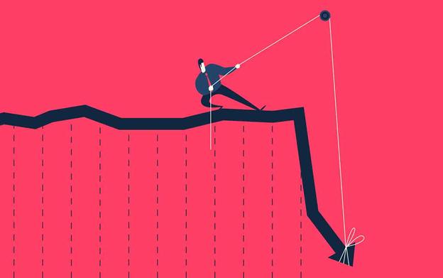 ¿Los expertos se mantienen seguros en un mercado a la baja?