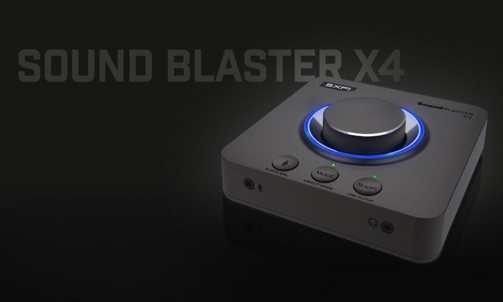 Sound Blaster X4, la tarjeta de sonido todoterreno de Creative