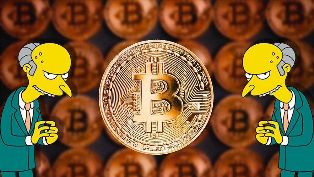 Hasta el Sr. Burns quiere entender bitcoin