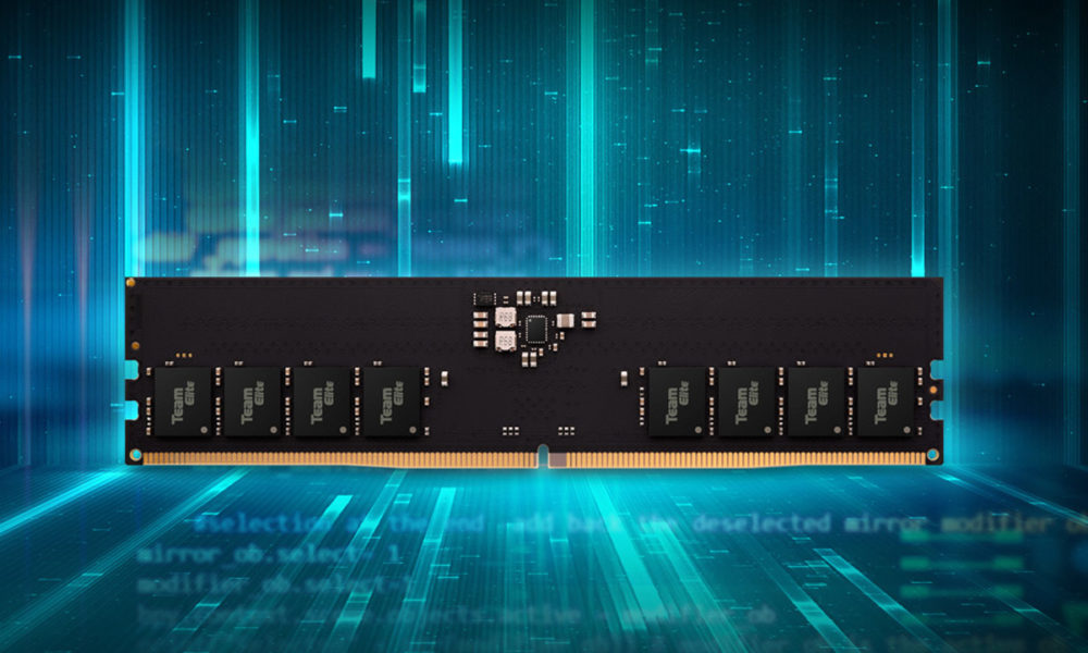 Teamgroup anuncia su primera memoria RAM DDR5 compatible con Intel Alder Lake-S