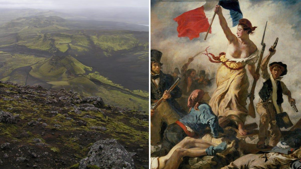 Cómo la erupción de un volcán en Islandia condujo a la Revolución Francesa