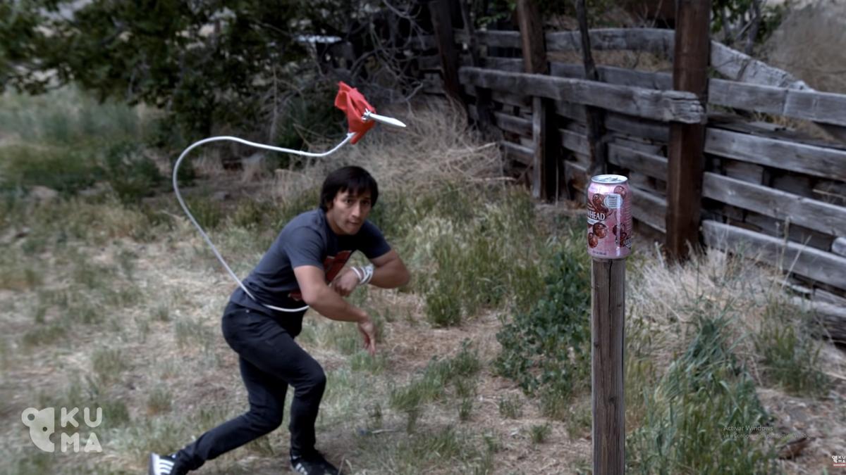 Alucina con el youtuber que calca los ataques de Scorpion en Mortal Kombat