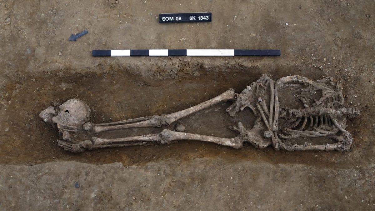 Encuentran 17 esqueletos decapitados en un cementerio romano