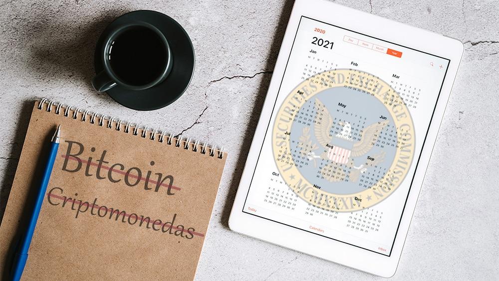 La SEC no incluye ETF de bitcoin ni de otras criptomonedas en su agenda de 2021