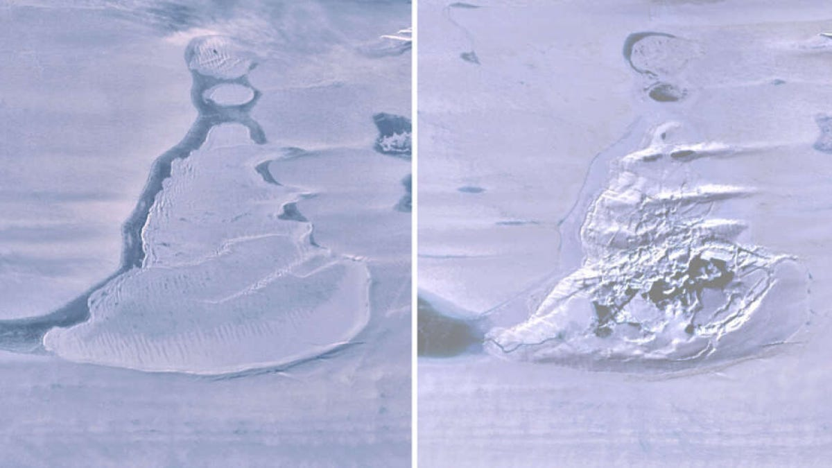 El misterio del lago antártico que ha desaparecido en el océano