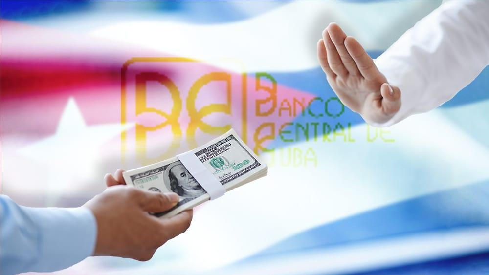 Cuba suspende todos los depósitos bancarios con dólares en efectivo