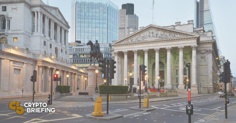 El Banco de Inglaterra dice que las monedas estables deberían regularse