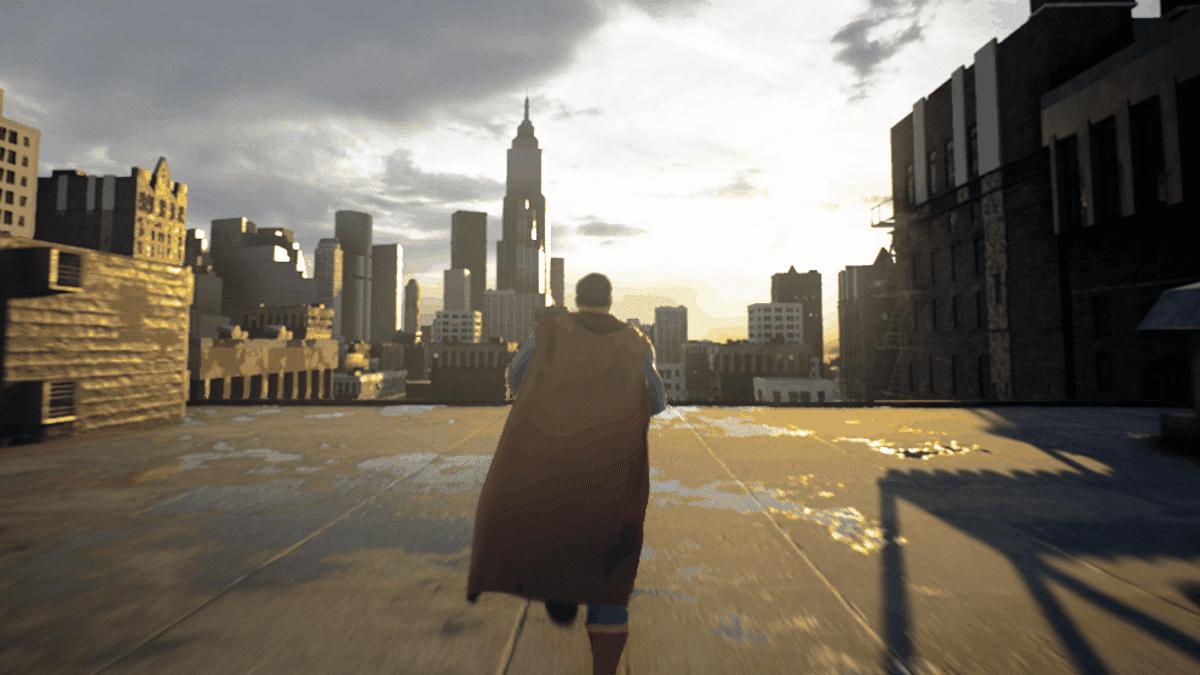 Lanzan una demo de un videojuego de Superman en Unreal Engine 5