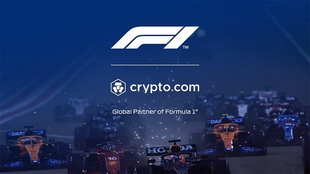 Crypto.com será anunciante en la Fórmula 1 desde julio