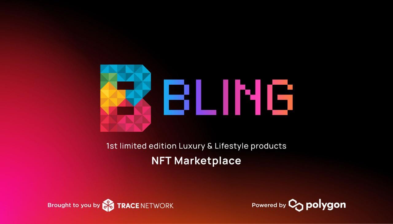 Artículos de lujo y estilo de vida de edición limitada como NFT, en Bling Marketplace