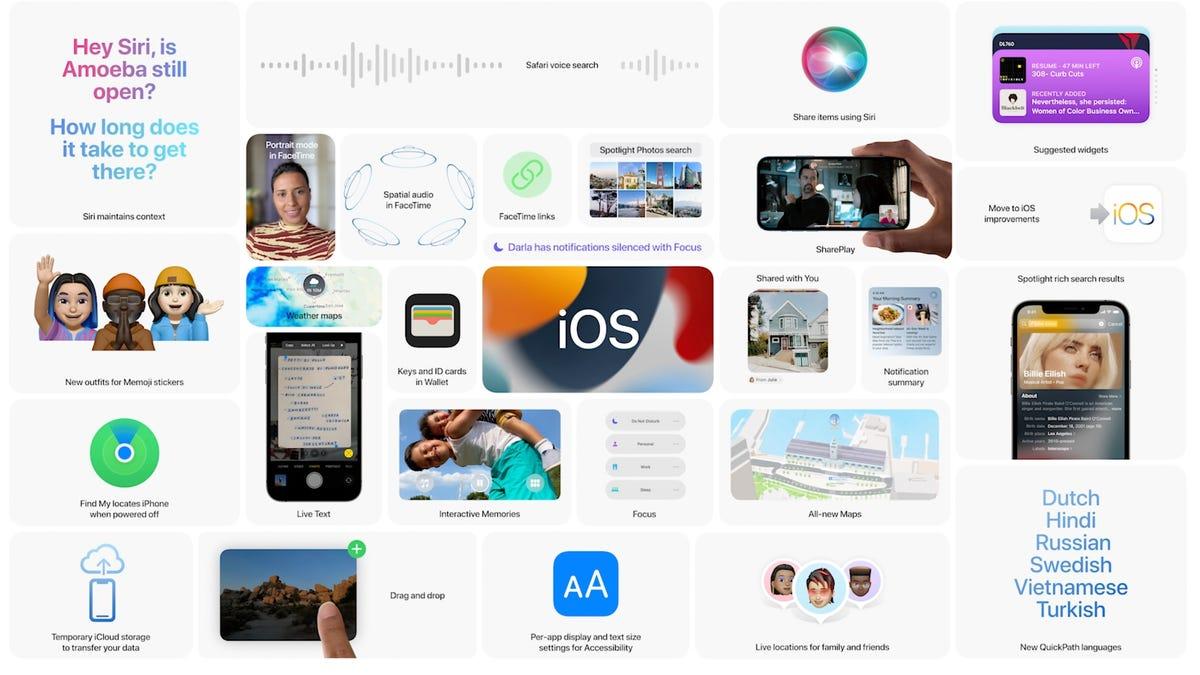 Estas son las novedades de iOS 15, la próxima actualización del iPhone