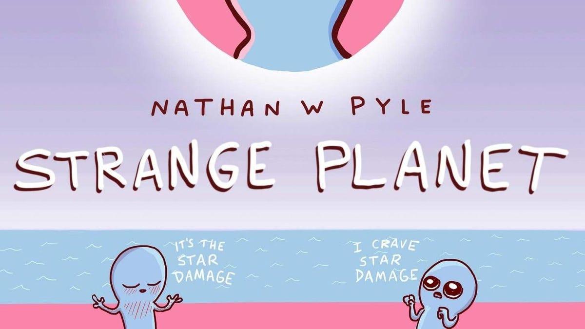 El webcomic Strange Planet se convertirá en una serie de Apple TV+ con ayuda del creador de Rick y Morty