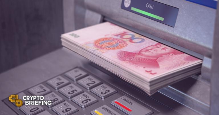 China lanza cajeros automáticos de 3.000 yuanes digitales