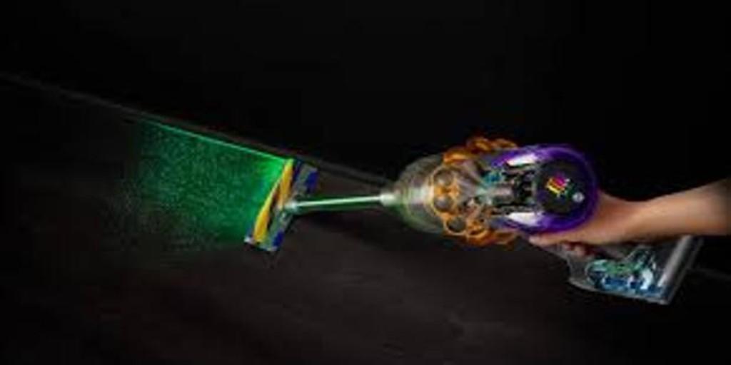Dyson presenta su primera aspiradora sin cable con tecnología de detección láser de polvo