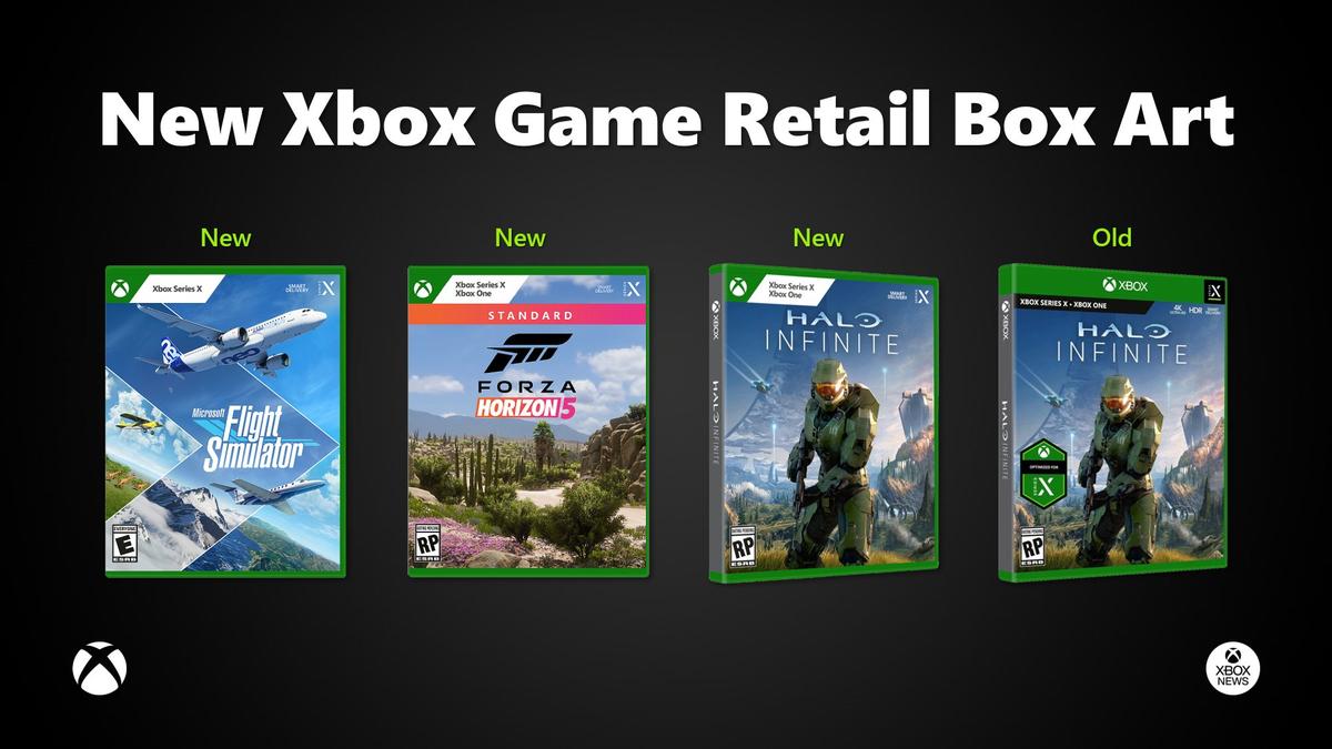 Microsoft rediseña las carátulas de sus juegos de Xbox
