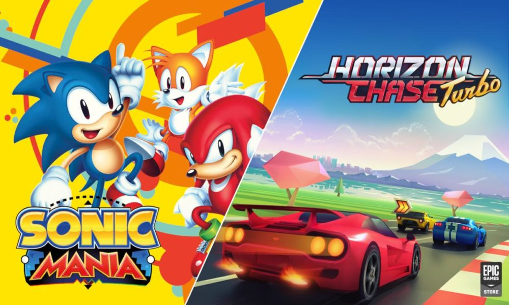 Sonic Mania y Horizon Chase Turbo gratis en Epic Games Store