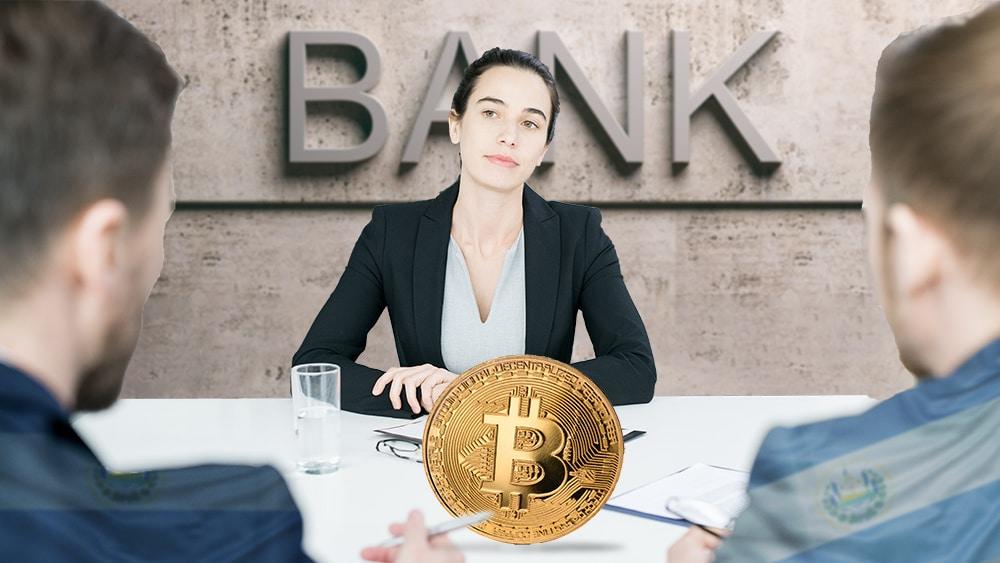 El Salvador busca ayuda sobre bitcoin en donde no es, los bancos