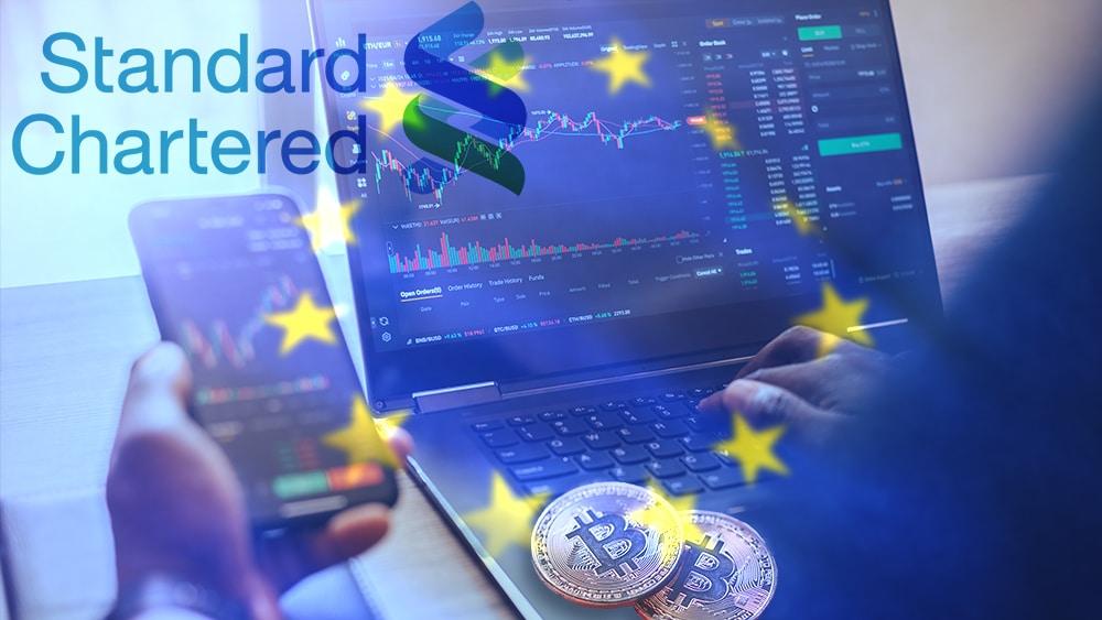 Standard Chartered lanzará exchange de bitcoin para instituciones de Europa