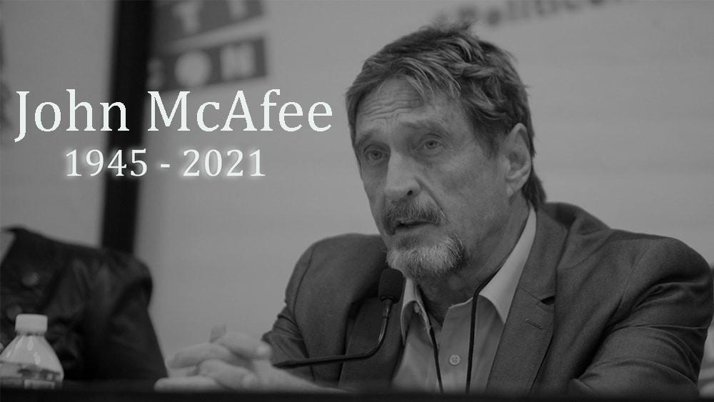 John McAfee fue encontrado muerto en una prisión de España