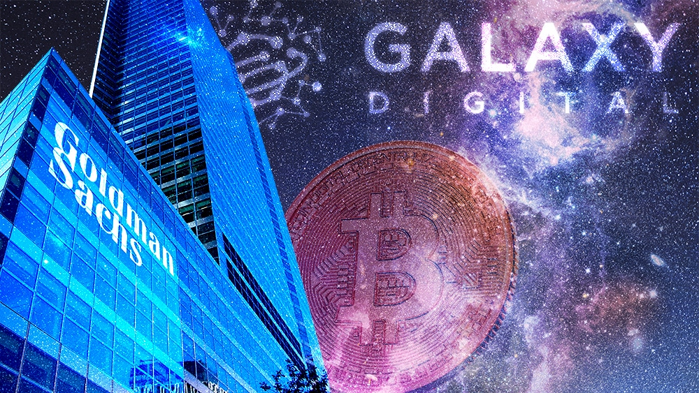 Goldman Sachs se unió a Galaxy Digital para negociar futuros de bitcoin