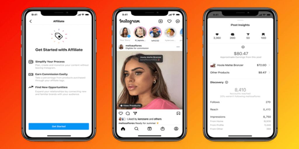 Facebook e Instagram anuncian nuevas funcionalidades para atraer a los 'inluencers'