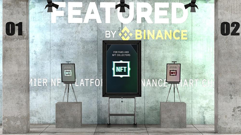 Binance abre un mercado descentralizado para comerciar NFT