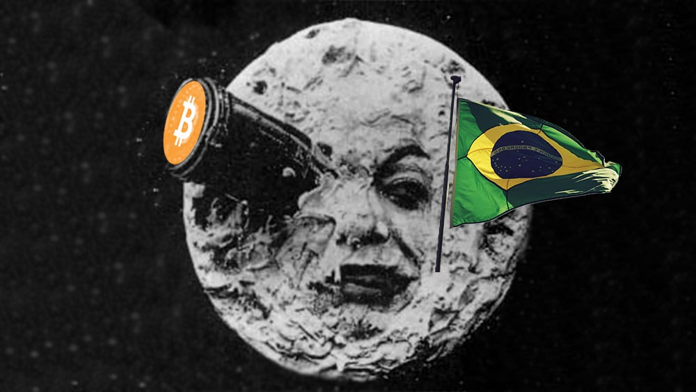 Radioaficionados de Brasil enviaron bitcoin gracias a la luna
