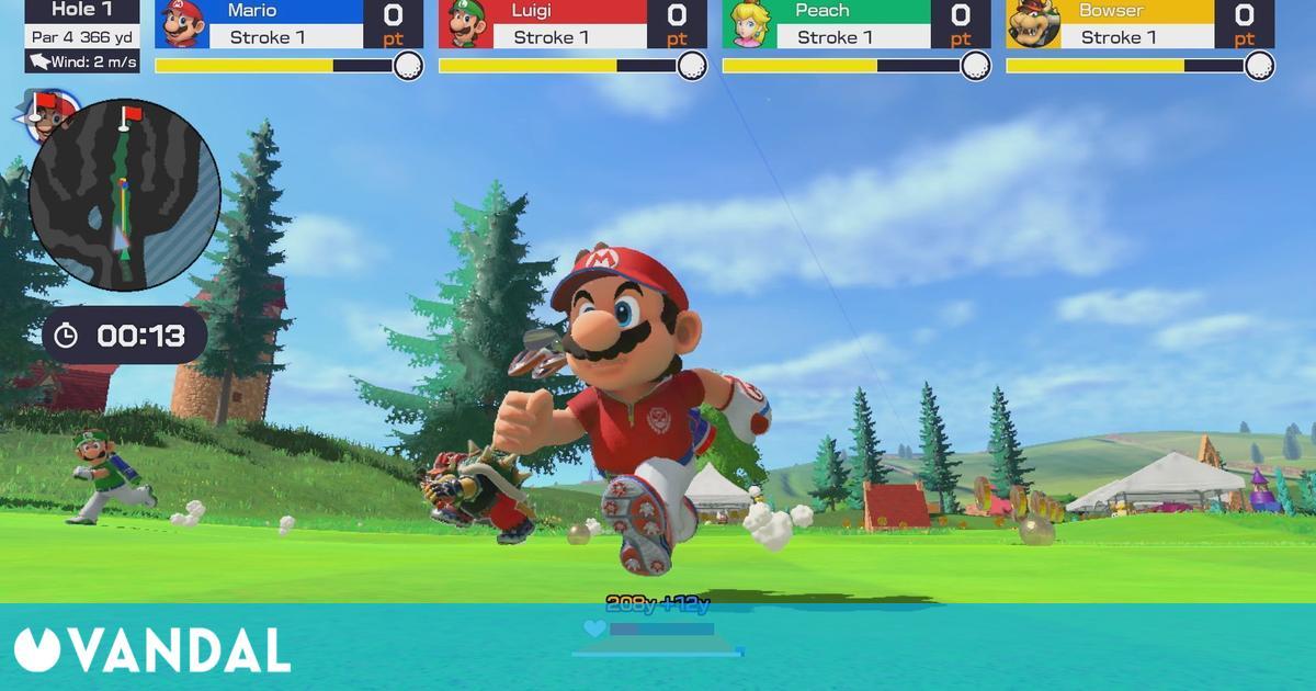 Mario Golf: Super Rush reemplaza a Ratchet & Clank como el más vendido en Reino Unido