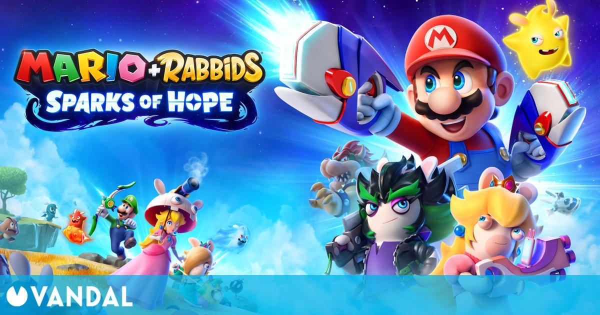 Mario + Rabbids: Sparks of Hope llegará a Nintendo Switch en 2022