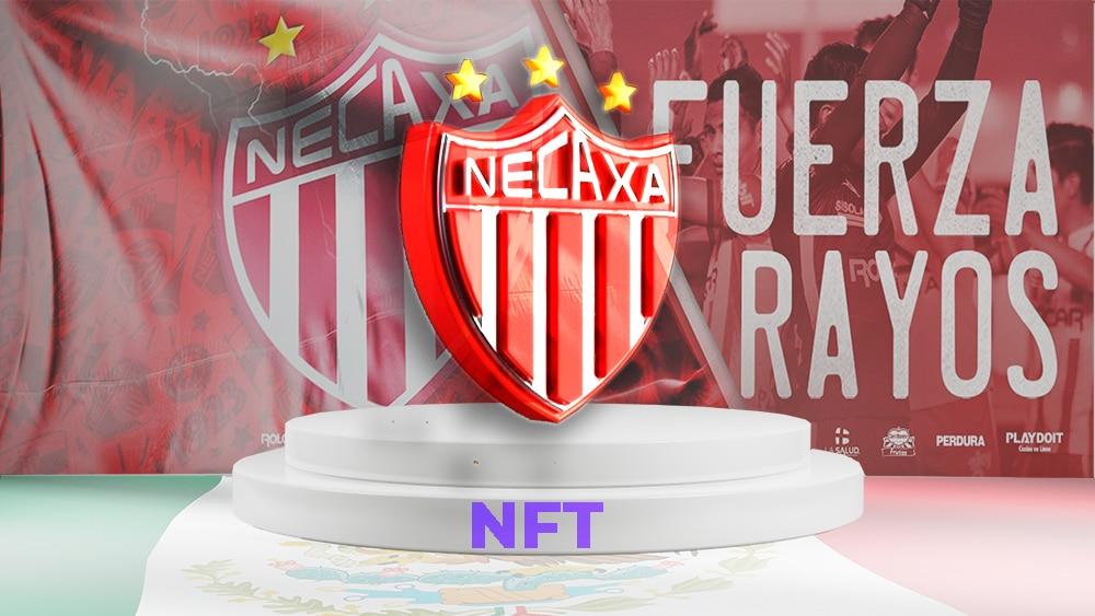 Club mexicano de fútbol subasta acciones en NFT por 1,3 millones de dólares