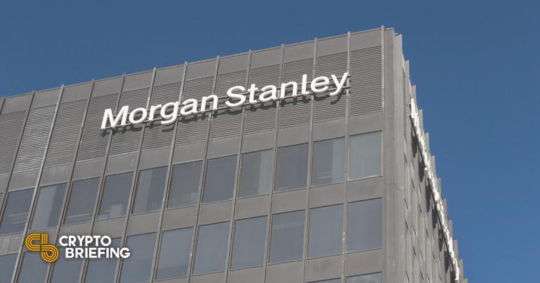 Morgan Stanley revela participación en el fideicomiso de Bitcoin en escala de grises